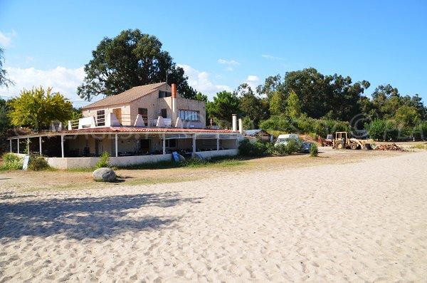 Restaurant sur la plage de Solaro - Funtanaccia