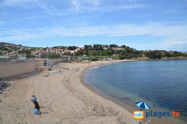 Gaillarde beach - Les Issambres - France