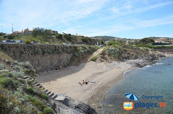 Spiaggia della Gaillarde Ouest - Les Issambres - Francia