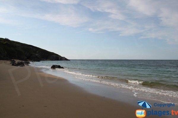 Photo de la plages des Galères à Belle Ile en Mer