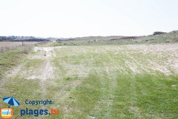 Environnement du bord de mer de Glatigny - Manche