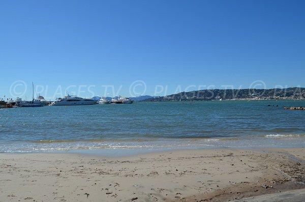 La Gallice, une plage calme à Juan les Pins