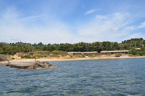 Spiaggia del Gaou a Bormes les Mimosas - Francia