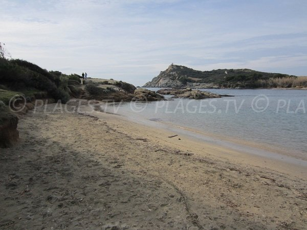 Gaou beach in Six Fours les Plages in France