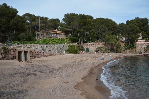 Spiaggia a Saint Raphaël - Garde Vieille