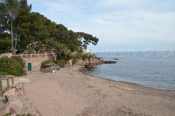 Spiaggia Garde Vieille a Saint Raphaël - Francia