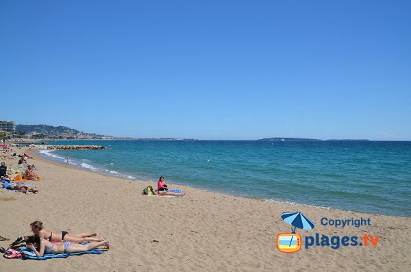 Gare De Marchandise Beach In Cannes La Bocca Alpes