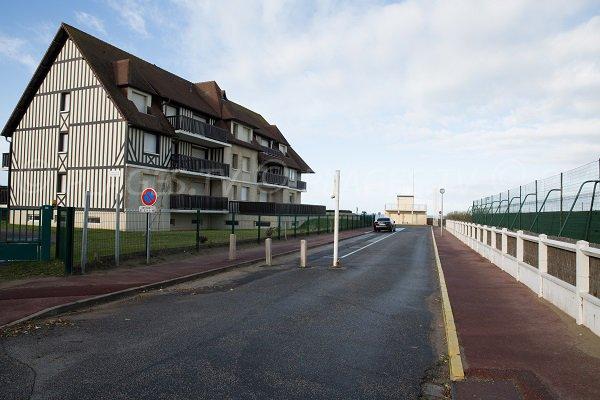 Access to the Garenne beach