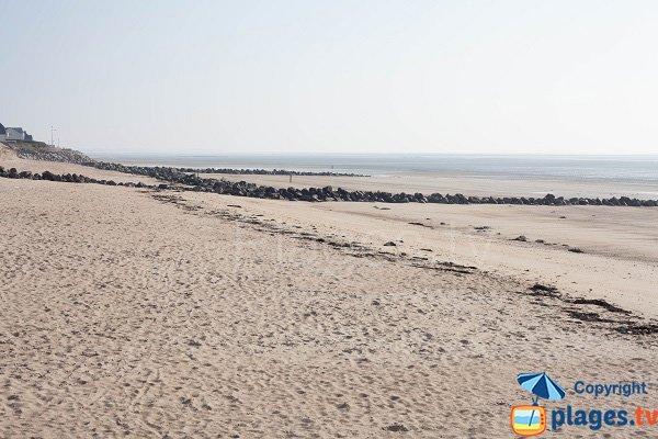 Photo de la plage des Garennes à Hauteville sur Mer - 50