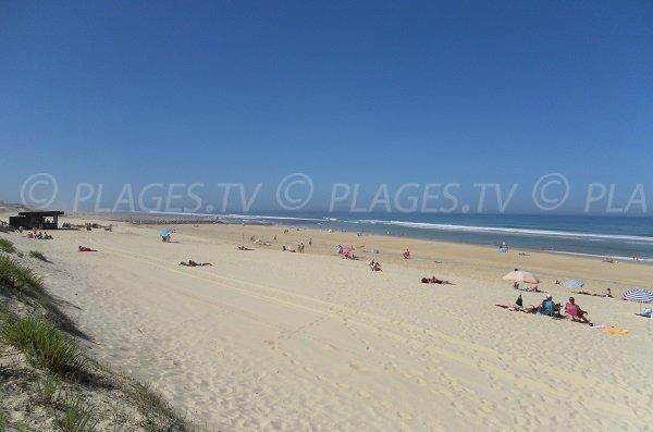 Photo of Garluche beach in Mimizan in France
