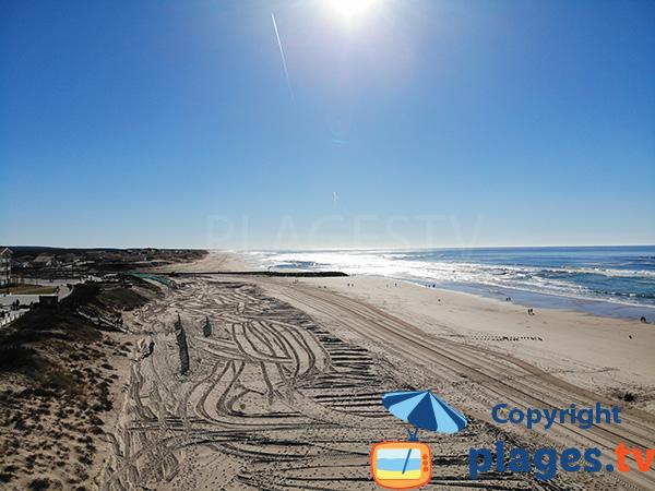 Photo of Garluche beach in Mimizan