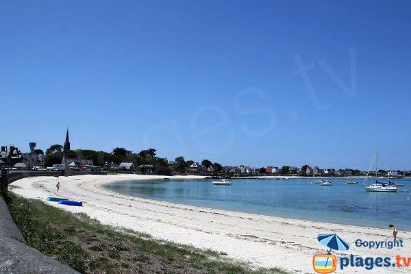 Photo de la plage du Garo à Brignogan-Plage - Bretagne