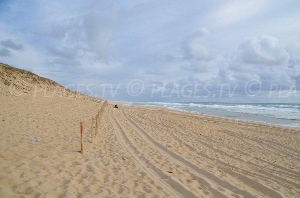 La Garonne au Cap Ferret - Plage de sable