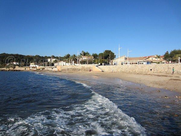 La Garonne beach - Le Pradet