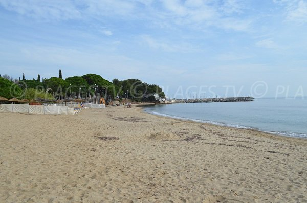 Port of Les Issambres and Garonnette beach - Sainte-Maxime