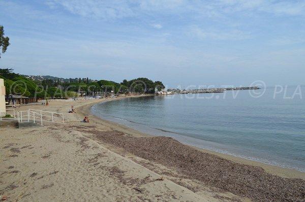 Plage de la Garonnette de Sainte Maxime