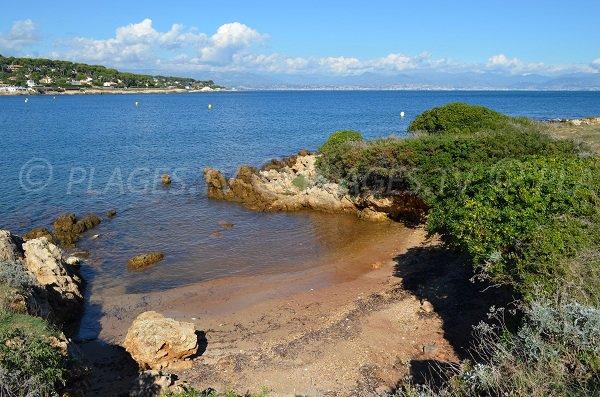 Garoupe Cove in Cap d'Antibes