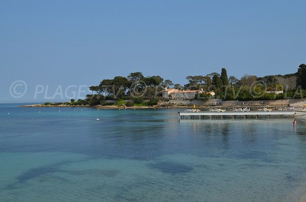 Garoupe bay in Cap d'Antibes - France