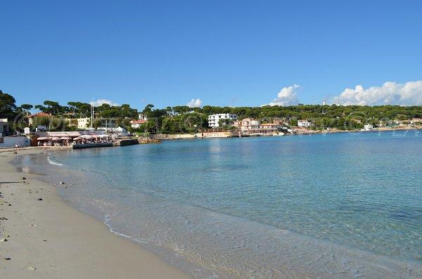 Garoupe beach in Cap d'Antibes - Off-season
