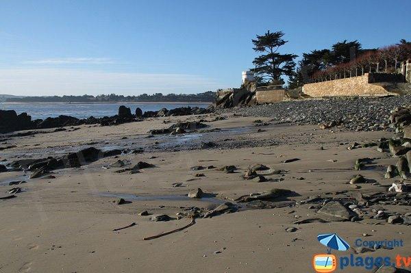 Accès plage de Garreg Kouezet - Locquirec