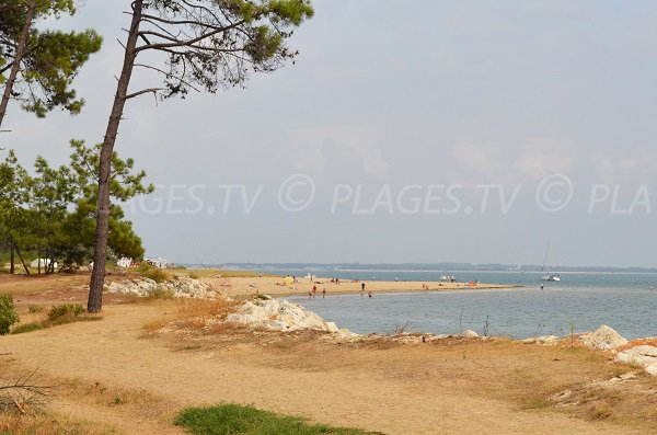 Photo of Gatseau beach in Oléron in France