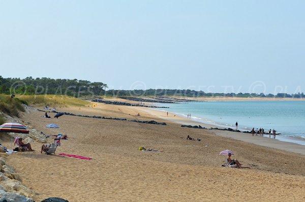 Photo de la plage de Gautrelle à St Georges d'Oléron
