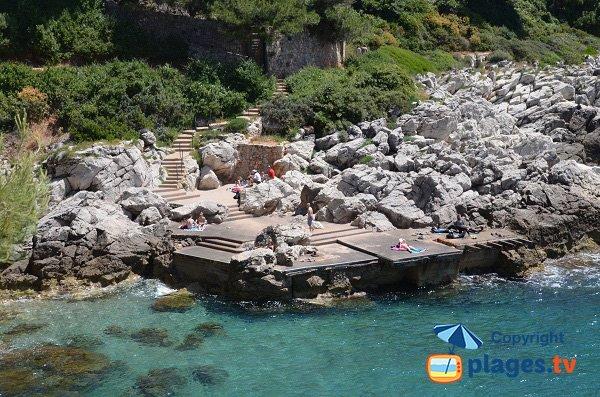Photo of Gavinette beach - Cap Ferrat