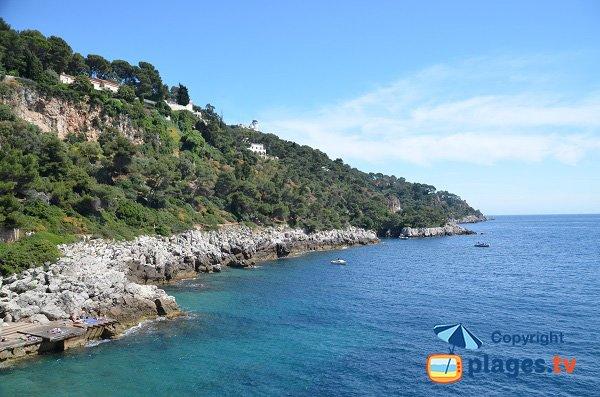 Coastal around Gavinette point - St Jean Cap Ferrat