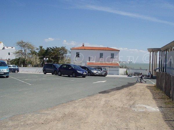 Parking de la plage des Génerelles à La Tranche sur Mer