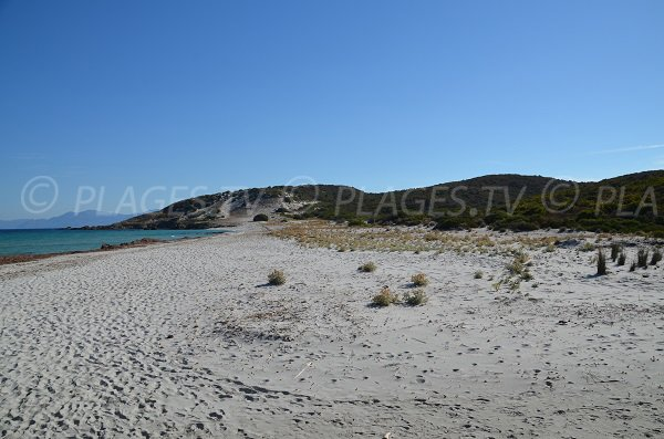 Confidential beach in the desert of Agriates - Corsica