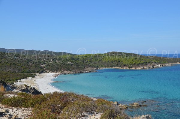 Photo of Ghignu beach in Desert of Agriates in Corsica