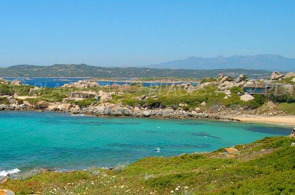 Photo de la cala de Ghiuncu de l'ile de Cavallo