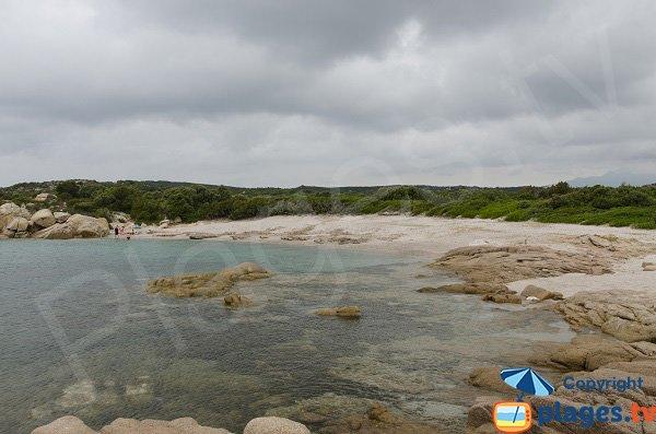 Photo de la plage de Giardinelli à Figari