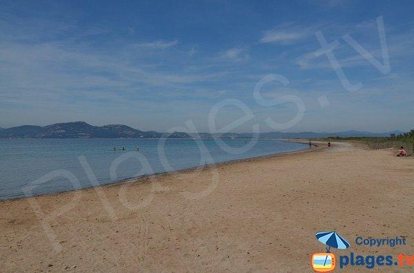 Photo de la plage de Giens