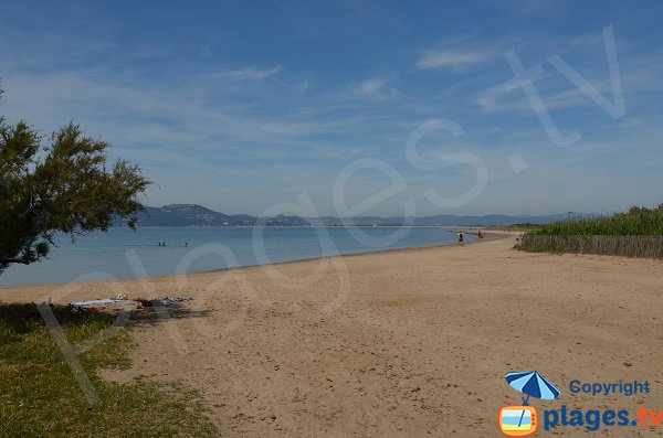 Photo of Giens beach in Hyeres - France