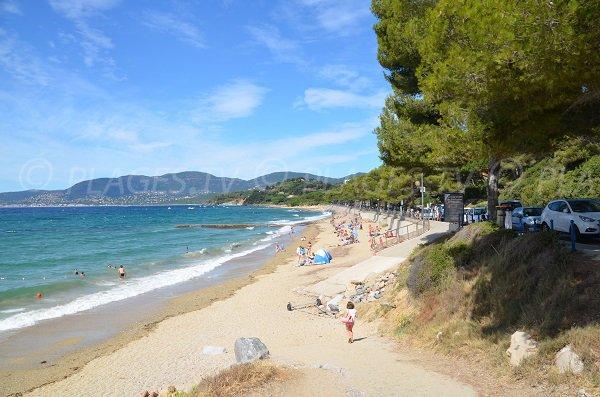 Foto della spiaggia Gigaro - La Croix Valmer - Francia