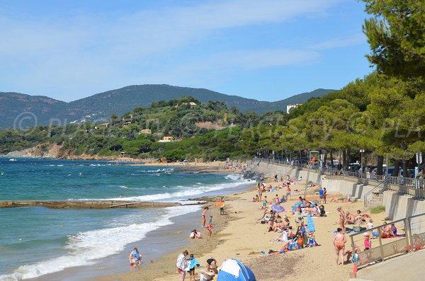 Spiaggia Gigaro a La Croix Valmer - Francia