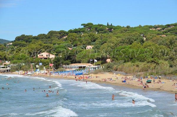 Spiaggia privata sulla spiaggia di Gigaro - La Croix Valmer
