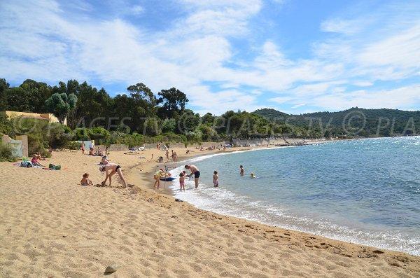 spiaggia ovest di Gigaro - La Croix Valmer