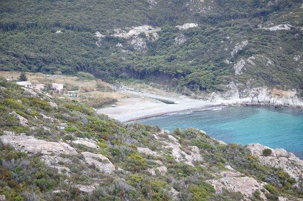 Plage de Giottani en Corse