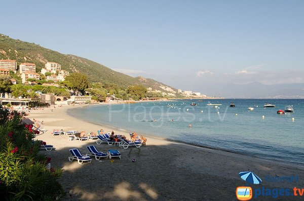 Photo of Girelles beach in Ajaccio - Corsica