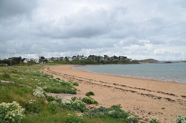 Photo de la plage de Goas Treiz à Trébeurden