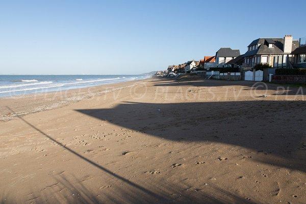 Goblins beach in Blonville sur Mer (Calvados)