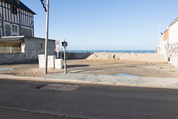 Access to Goblins beach