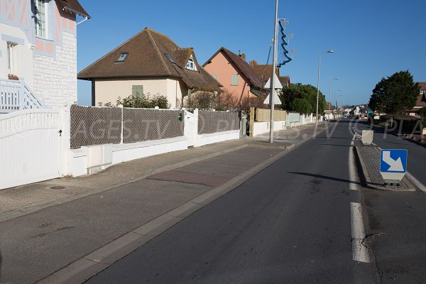 Avenue Michel Ornano Blonville sur Mer
