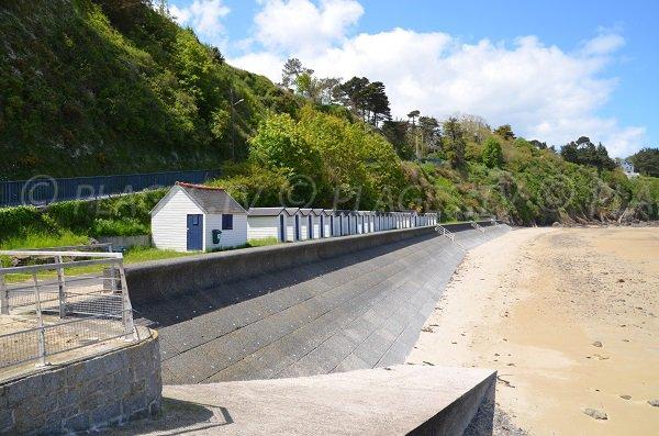 Les cabines de plages de Godelins - Etables sur Mer