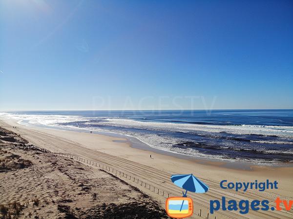 Photo de la plage du Goeland à Mimizan