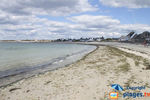 Photo of Goerem beach in Gavres - France