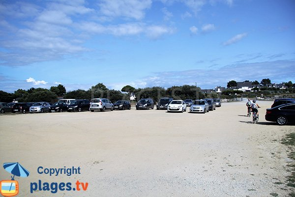 Parking de la plage de Goh Velin - St Gildas de Rhuys