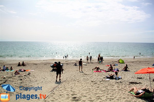 Belle plage sur la presqu'ile de Rhuys - Govelins